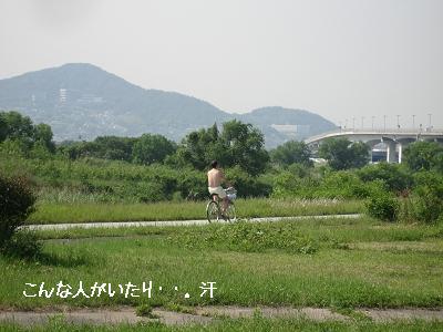 河川敷、それぞれの風景_e0126046_011312.jpg