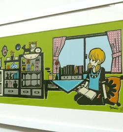 村上トモミ イラスト展〜「ときめきのひとかけら」〜はじまってます!_a0017350_915276.jpg