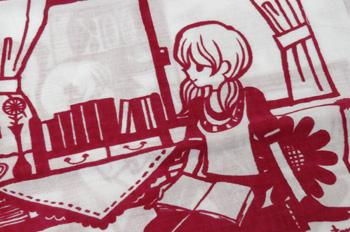 村上トモミ イラスト展〜「ときめきのひとかけら」〜はじまってます!_a0017350_974986.jpg