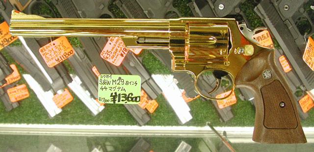 """コクサイ M29 8"""" 金属モデルガン 入荷_f0131995_1556388.jpg"""