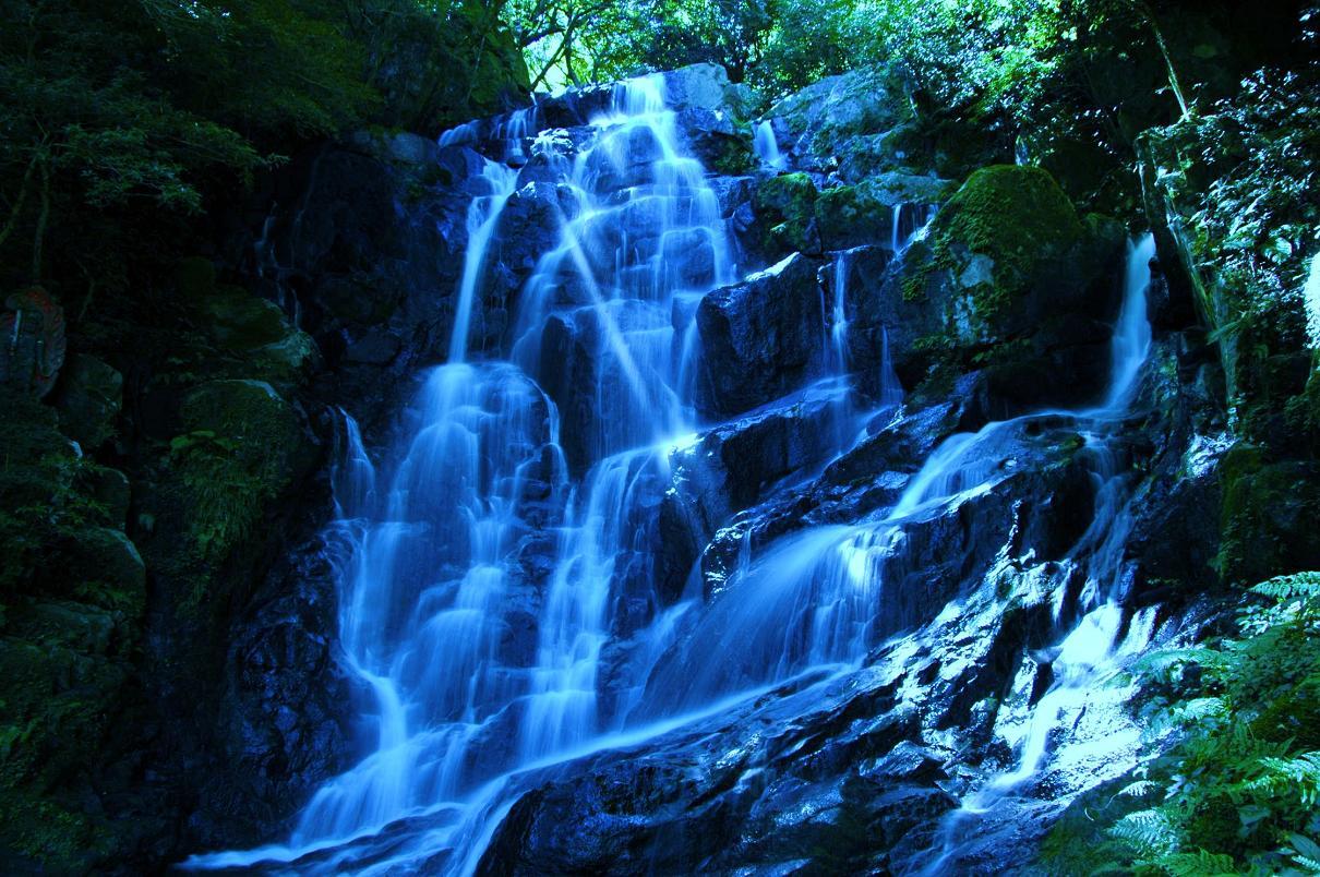 白糸の滝 壁紙写真_f0172619_1550114.jpg