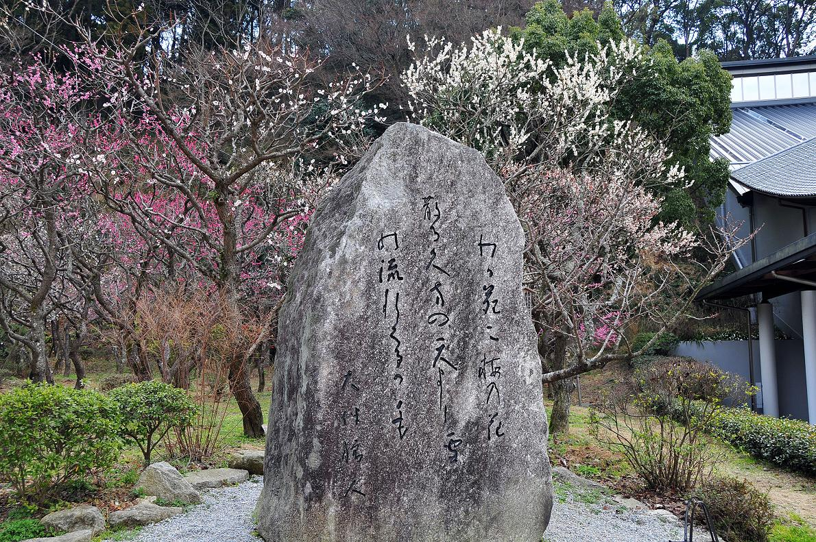 太宰府の歌碑・石碑 壁紙写真_f0172619_1774365.jpg