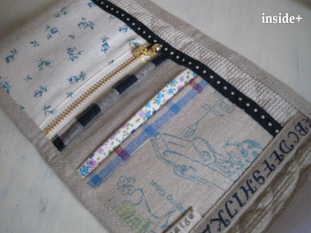 リネン財布♪お子様サイズ_f0023333_1738114.jpg