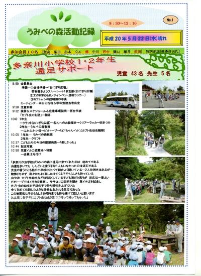 多奈川小学校1・2年生遠足サポート_c0108460_1241028.jpg
