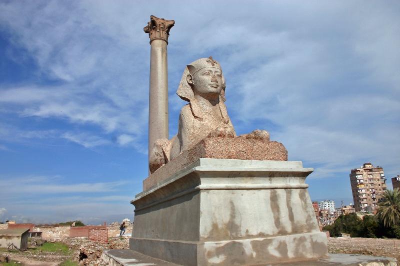 エジプトア レクサンドリアの博物館_e0108650_2252532.jpg