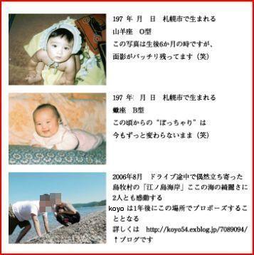 結婚式のプロフィールパンフレット_c0070412_22451686.jpg