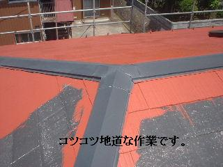 屋根塗装・・プライマー_f0031037_17425940.jpg