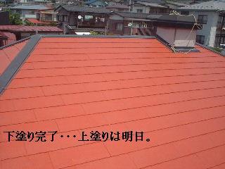 屋根塗装・・プライマー_f0031037_17432230.jpg