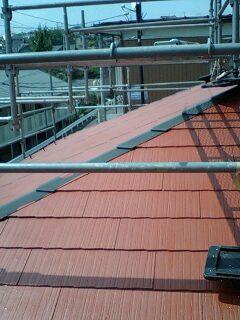 屋根塗装・・プライマー_f0031037_17445343.jpg