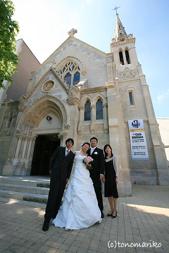 友達よんでパリで結婚式!_c0024345_0522617.jpg