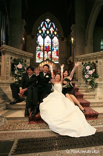 友達よんでパリで結婚式!_c0024345_0531979.jpg