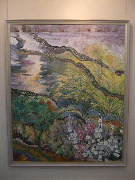 630)時計台 ①「第23回 北の日本画展」 5月26日(月)~5月31日(土)  _f0126829_21152310.jpg