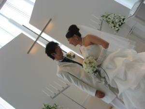 ホワイトチャペルWEDDING☆_c0043737_1017453.jpg