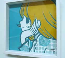 村上トモミ イラスト展「ときめきのひとかけら」ReportⅠ _a0017350_23462916.jpg
