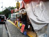 甲子園観戦旅行2008その11~甲子園球場横のたこ焼き屋_c0060651_122618100.jpg