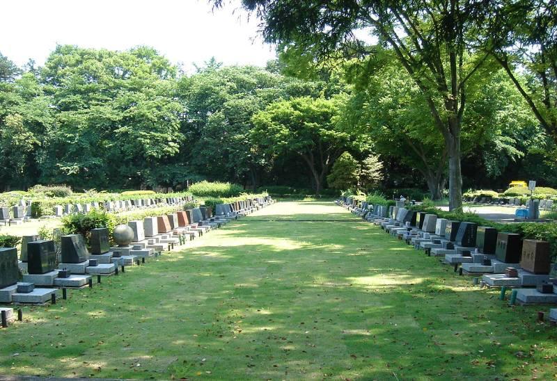 小平霊園に新たな合葬式墓地完成_f0059673_22434434.jpg