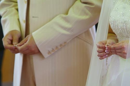 結婚式 ~教会編~_c0070412_19475460.jpg