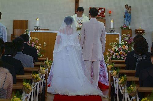 結婚式 ~教会編~_c0070412_2054697.jpg