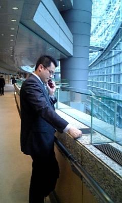 東京国際フォーラムでプレゼンテーション_d0148223_22154671.jpg