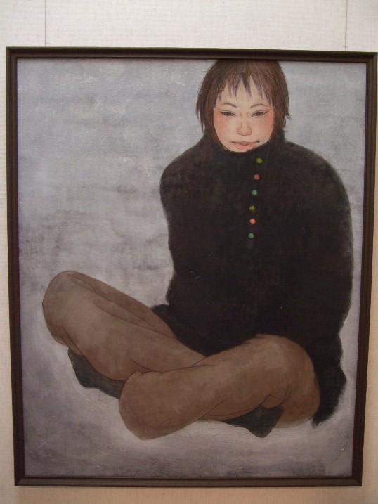 631) 時計台 ②「第23回 北の日本画展」 5月26日(月)~5月31日(土)  _f0126829_22571681.jpg