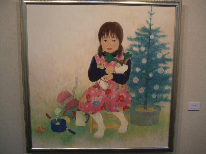 631) 時計台 ②「第23回 北の日本画展」 5月26日(月)~5月31日(土)  _f0126829_23183865.jpg