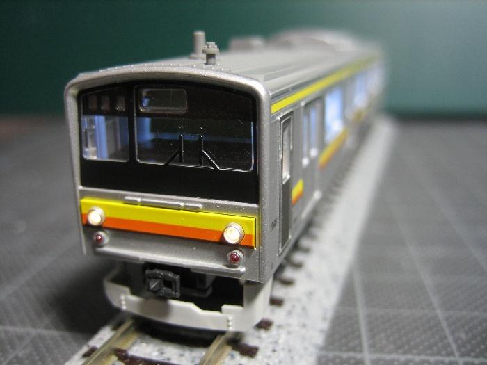 205系南武線 行先表示を点灯_e0120143_223111100.jpg