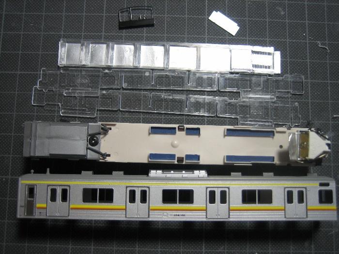 205系南武線 行先表示を点灯_e0120143_22312930.jpg