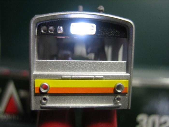 205系南武線 行先表示を点灯_e0120143_22322169.jpg