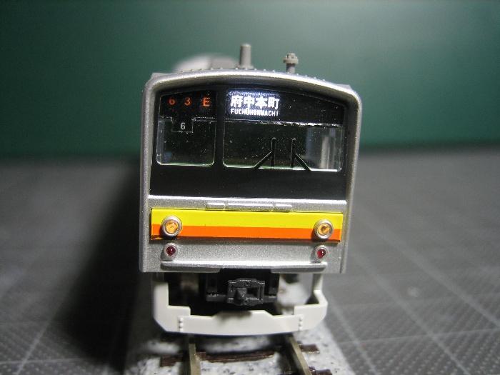 205系南武線 行先表示を点灯_e0120143_22331743.jpg