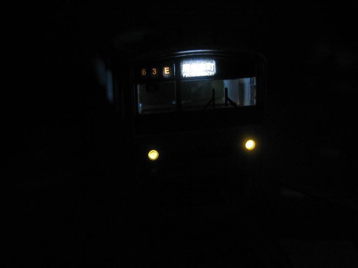 205系南武線 行先表示を点灯_e0120143_22333019.jpg