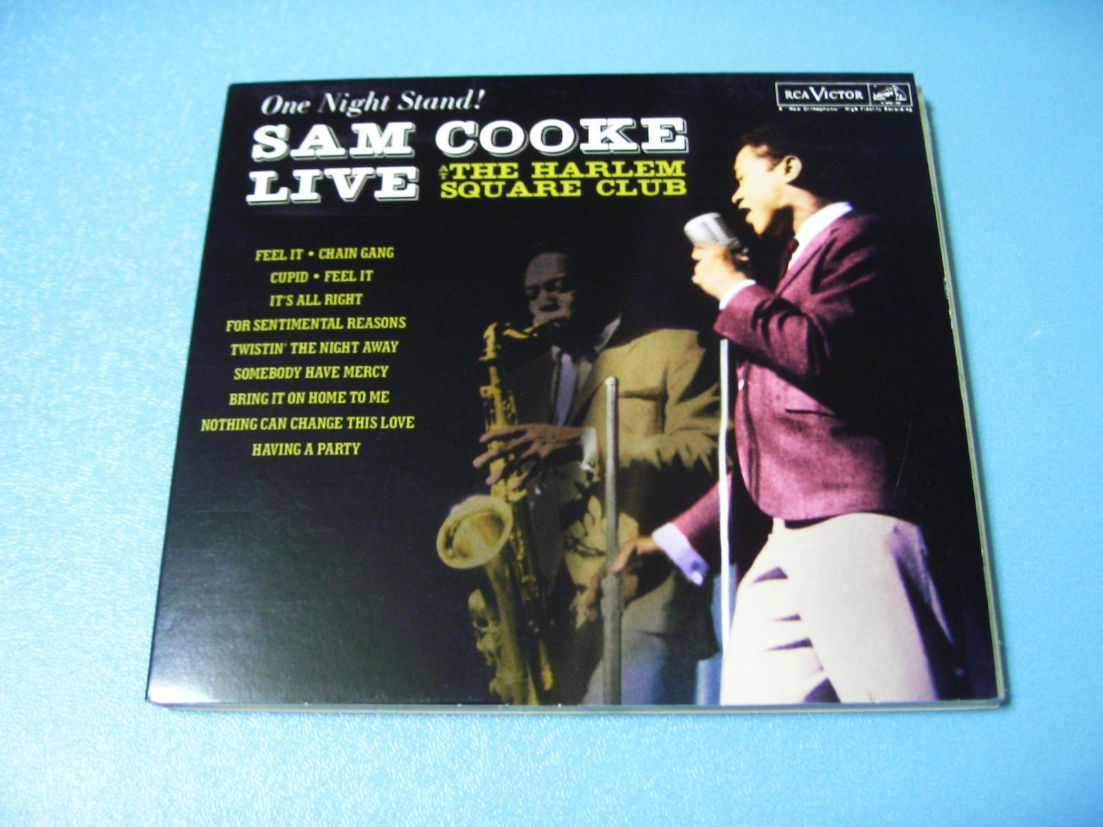 Sam Cooke / Sam Cooke at the Copa(SACDハイブリット)_c0062649_23372852.jpg
