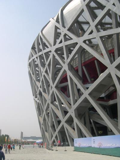 北京オリンピックスタジアム -Bird\'s Nest-_d0148755_21113990.jpg
