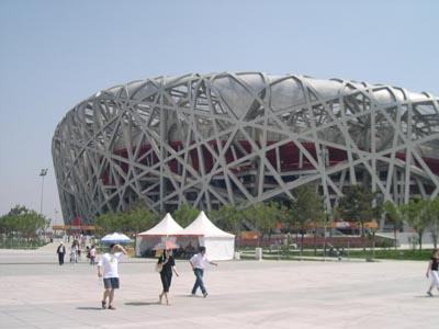 北京オリンピックスタジアム -Bird\'s Nest-_d0148755_21131261.jpg
