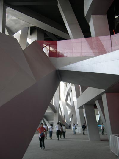 北京オリンピックスタジアム -Bird\'s Nest-_d0148755_2114797.jpg