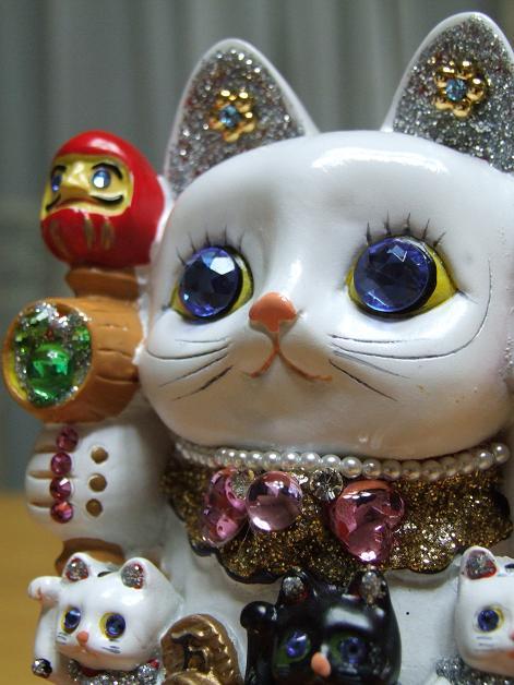 キラキラ親子招き猫_b0089338_2334278.jpg