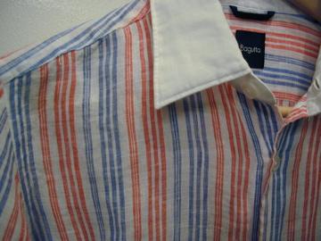 メンズBaguttaシャツ(リゾート仕様!)_c0118375_1817163.jpg