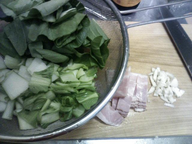 今日はさっばり!「青梗菜の炒め物」と「茄子ポン酢かけ」♪_b0137453_23121093.jpg
