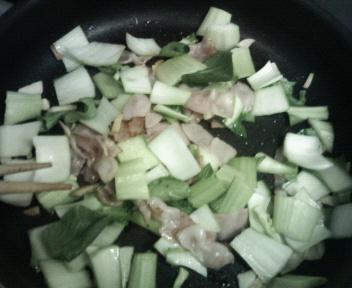 今日はさっばり!「青梗菜の炒め物」と「茄子ポン酢かけ」♪_b0137453_2314082.jpg