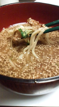 ★ひそかなブームのイケ麺★_f0129627_1219465.jpg