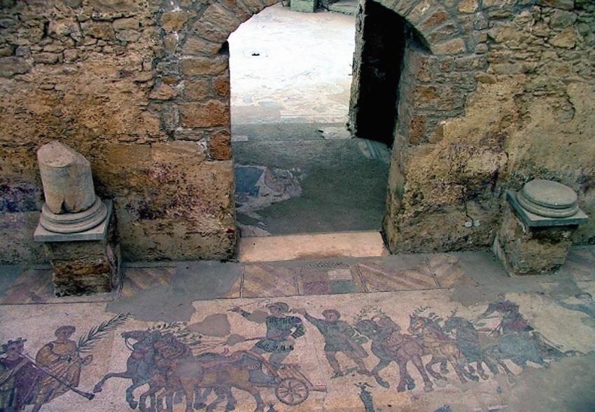 ローマ帝国遺跡 13 イタリア シシリー島②アグリジェントとピアッツァ_e0108650_21111853.jpg