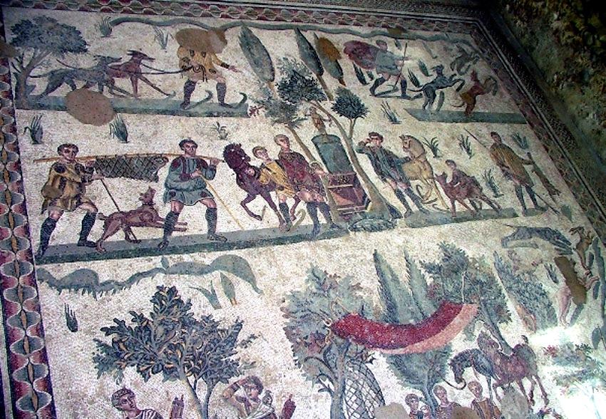 ローマ帝国遺跡 13 イタリア シシリー島②アグリジェントとピアッツァ_e0108650_21123846.jpg