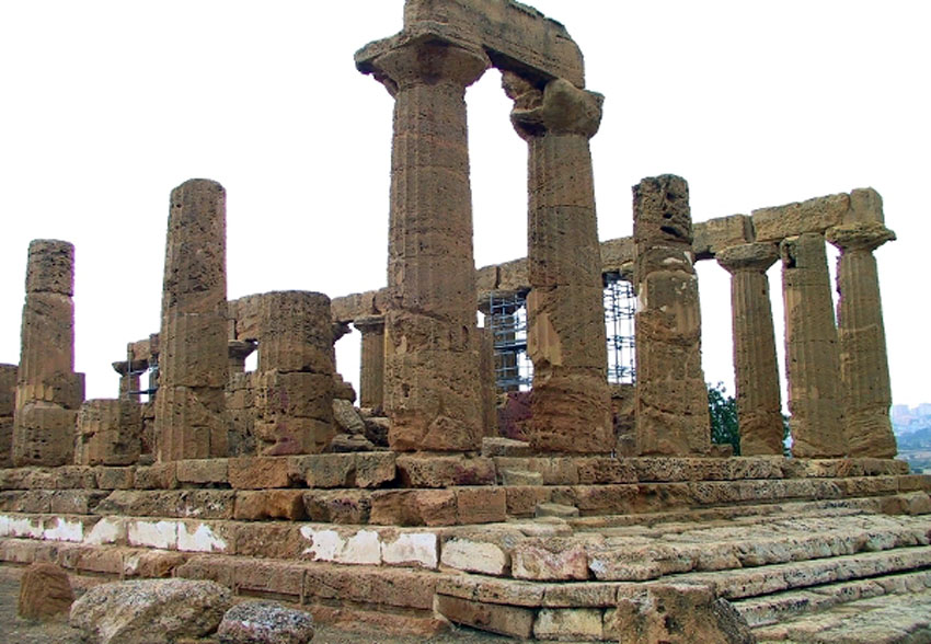 ローマ帝国遺跡 13 イタリア シシリー島②アグリジェントとピアッツァ_e0108650_214393.jpg