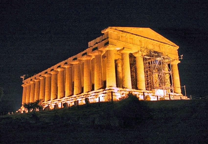 ローマ帝国遺跡 13 イタリア シシリー島②アグリジェントとピアッツァ_e0108650_21721100.jpg