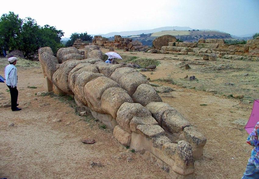 ローマ帝国遺跡 13 イタリア シシリー島②アグリジェントとピアッツァ_e0108650_2185533.jpg