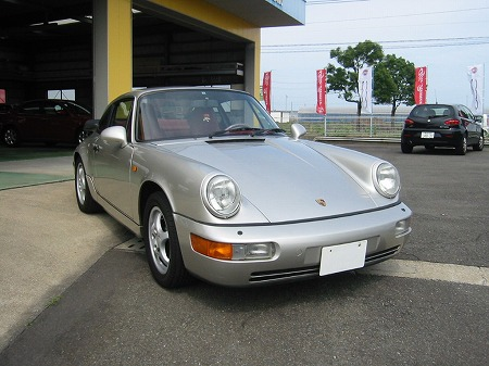 SOLD OUT ポルシェ964 ティプトロ_f0165957_1529935.jpg