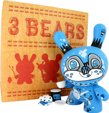 3 Bears Dunny Tea Bear by Jon Burgerman_e0118156_15305836.jpg
