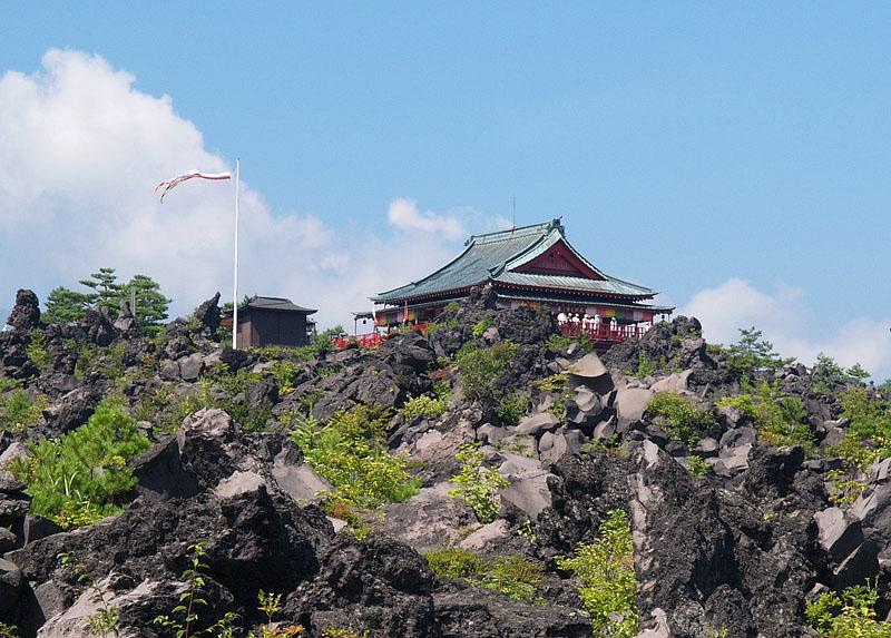 <2008年5月17日> 世界有数の活火山「浅間山」に登る_c0119160_21594086.jpg