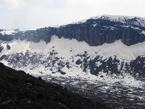 <2008年5月17日> 世界有数の活火山「浅間山」に登る_c0119160_23193977.jpg