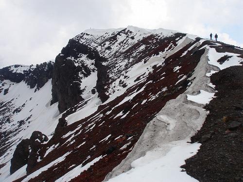 <2008年5月17日> 世界有数の活火山「浅間山」に登る_c0119160_23241682.jpg