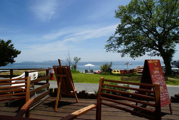 琵琶湖の湖岸にあるカフェ 「R cafe」_f0102363_2224565.jpg